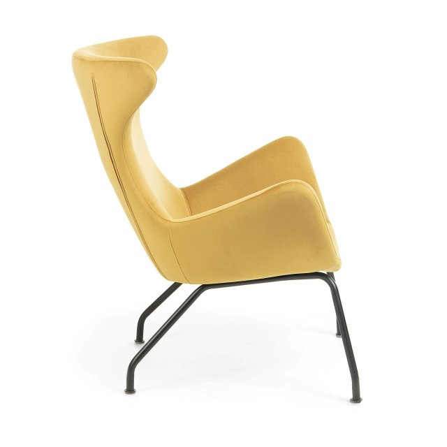 Fotelja Vanda Mustard Yellow