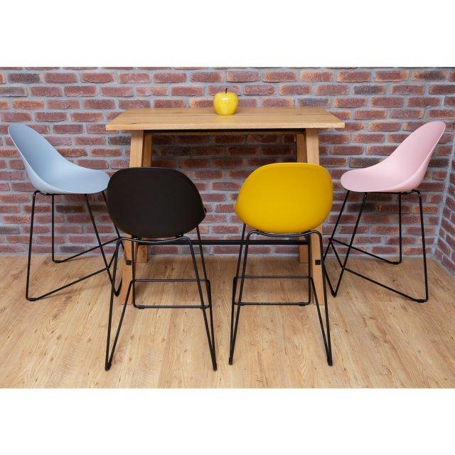 Barska stolica Parma Black