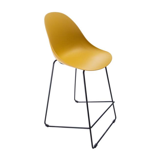 Polubarska stolica Parma Ochre