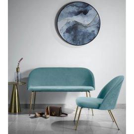Fotelja Ivonne Velvet Turquoise