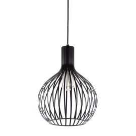 Stropna lampa Bird Black
