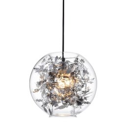 Stropna lampa Ball Silver