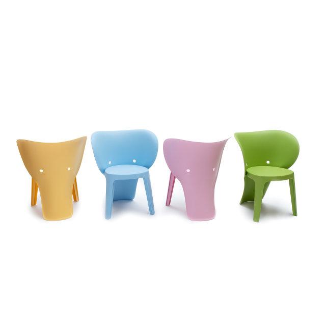 Dječja stolica Elephant Green