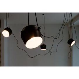 Stropna lampa Penny Black