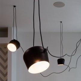 Stropna lampa Penny Black - set od 3 kom.