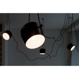 Stropna lampa Penny Black - set od 5 kom.