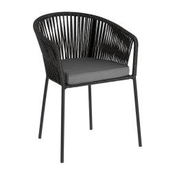 Stolica s rukonaslonom Yanet Black