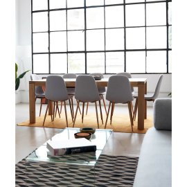 Produljivi stol Vivy 180/230x90 cm Natural