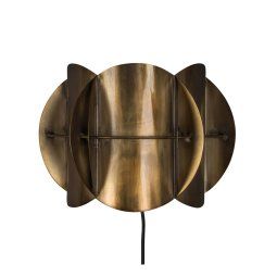 Zidna lampa Corridor Antique Brass
