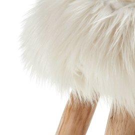 Barska stolica Numa White Fur