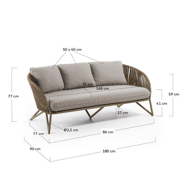 Lounge sofa Branzie
