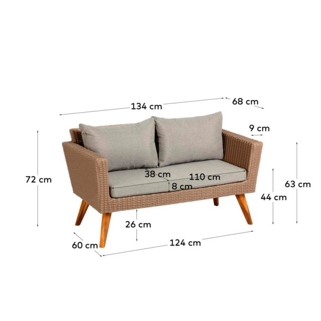 Lounge garnitura Sumie