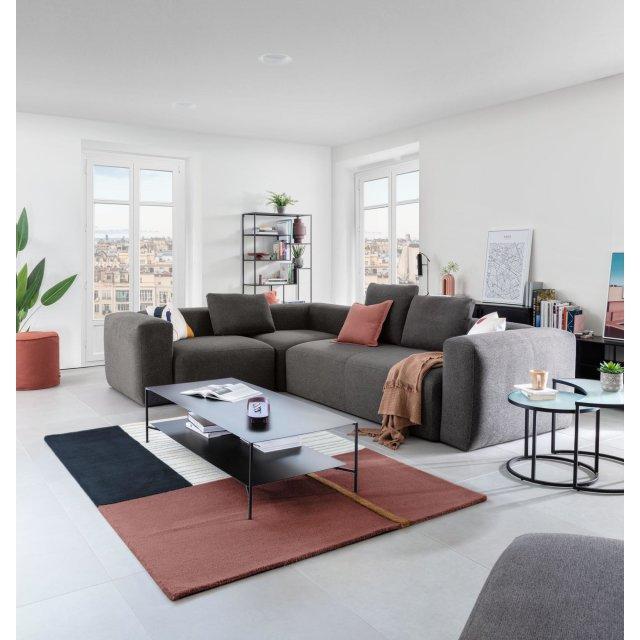 Kutna sofa Blok Grey Right