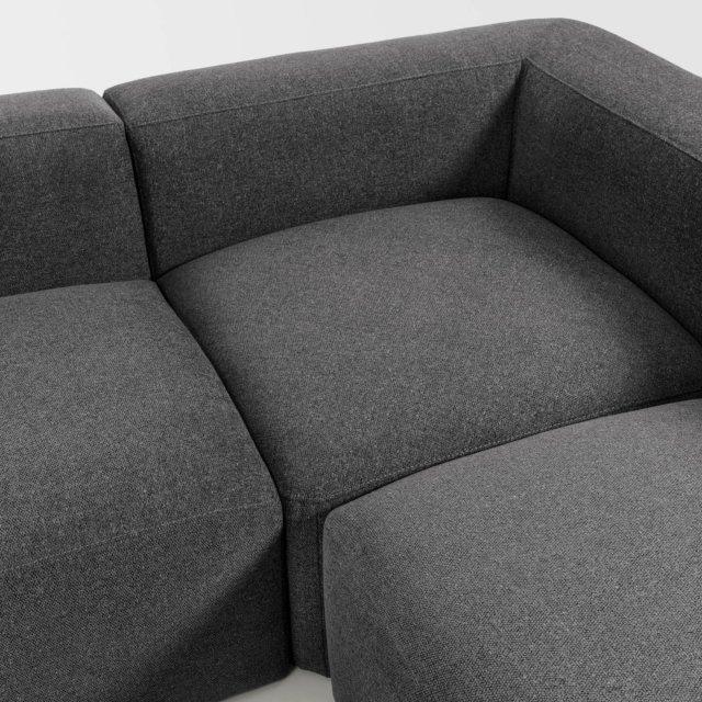 Kutna sofa Blok Grey