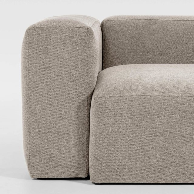 Kutna sofa Blok Beige Right