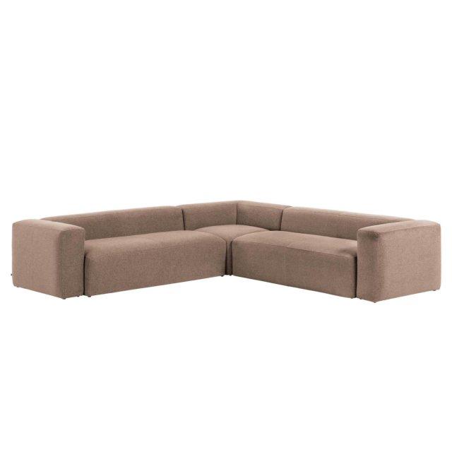 Kutna sofa Blok Pink