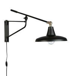 Zidna lampa Hector Black