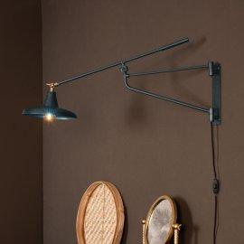 Zidna lampa Hector Teal