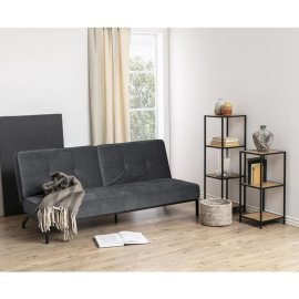 Sofa Perugia Velvet Dark Grey