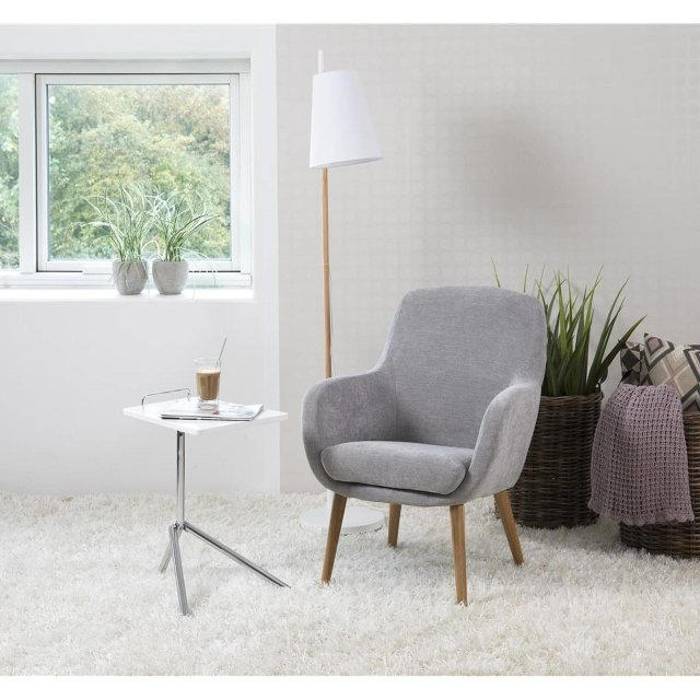 Fotelja Sally Light Grey