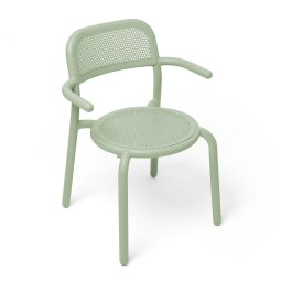 Stolica s rukonaslonom Toní Mist Green