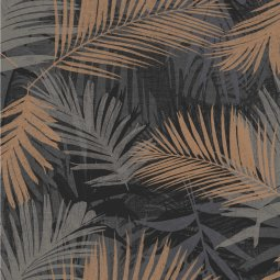 Tapeta Jungle Glam Black/Gold