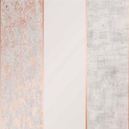 Tapeta Milan Stripe Rose Gold/Grey
