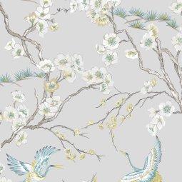 Tapeta Japan Grey/Blue