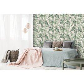 Tapeta Elegant Leaves Blush Pink