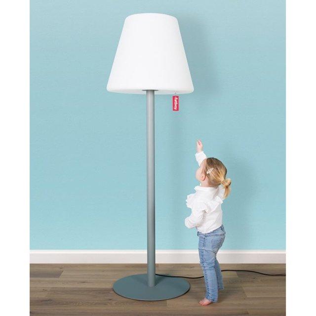 Podna lampa Edison The Giant Light Grey