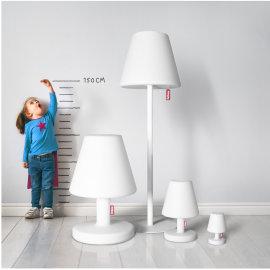 Podna lampa Edison The Giant Taupe