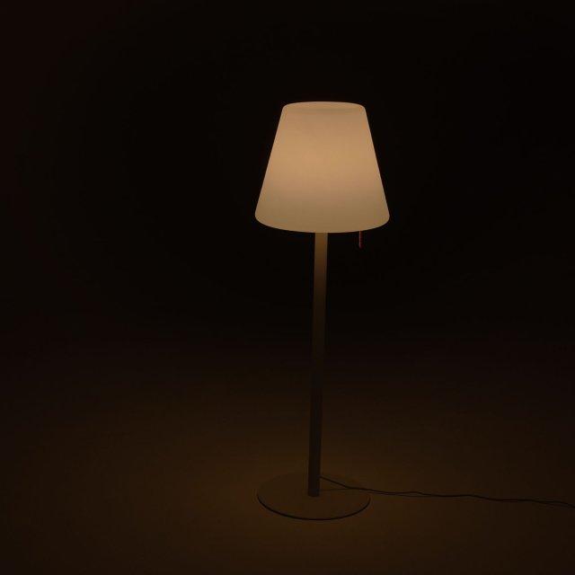 Podna lampa Edison The Giant Anthracite