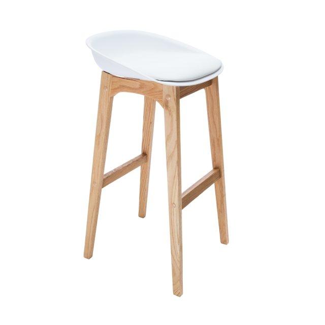 Barska stolica Cindy White/Natural