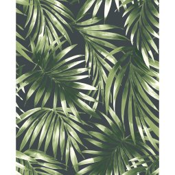 Tapeta Elegant Leaves Green