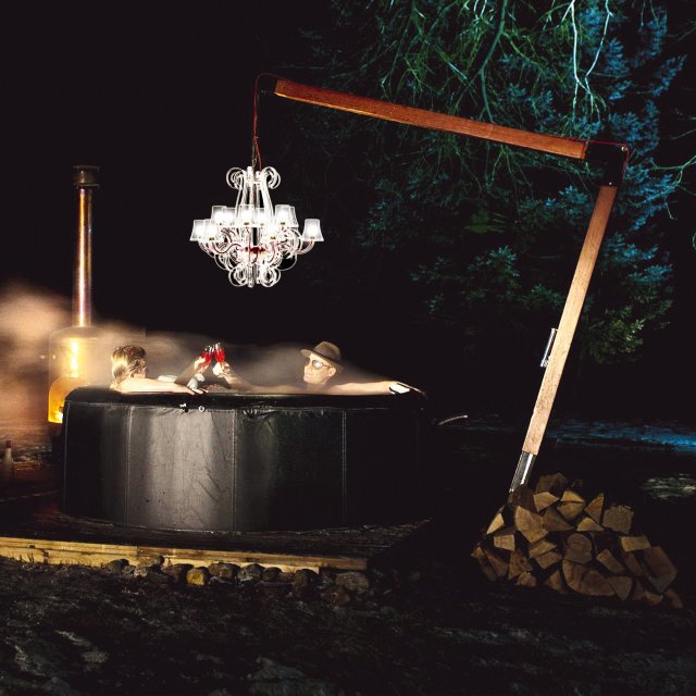 Stropna lampa RockCoco