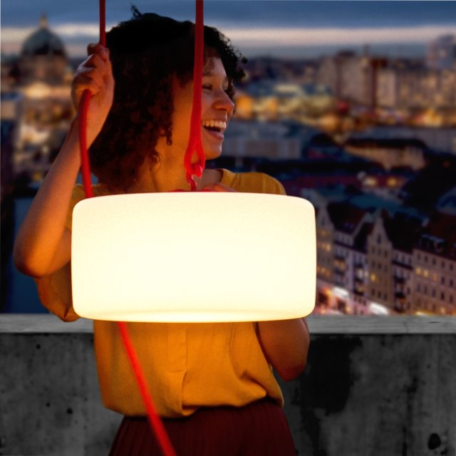 Lampa Thierry le Swinger Red