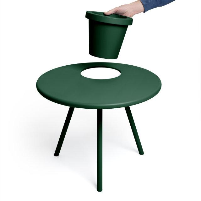Pomoćni stolić Bakkes Emerald Green