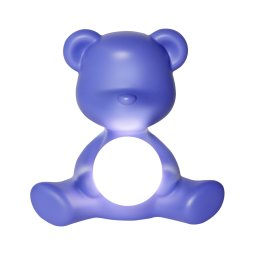 Stolna lampa Teddy Girl Violet
