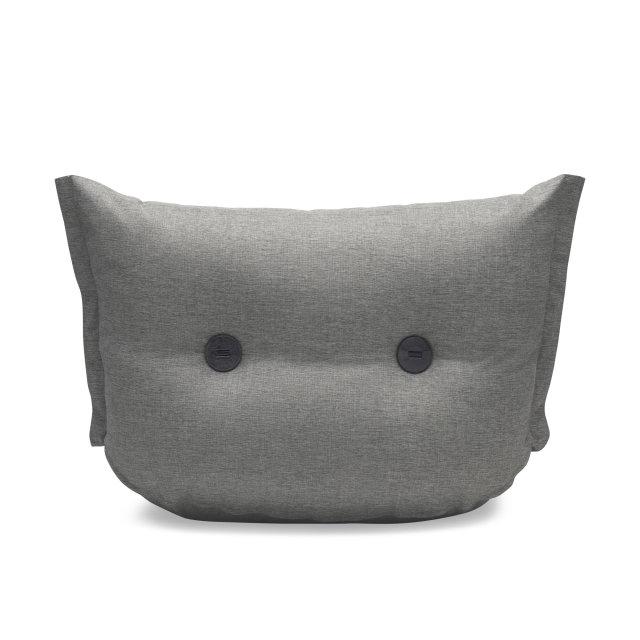 Fotelja The BonBaron Rock Gray