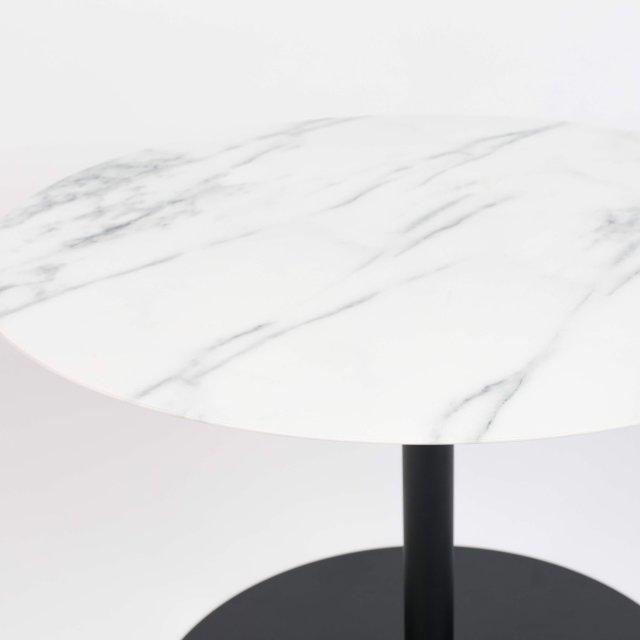 Pomoćni stolić Snow Marble Round M