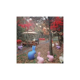 Stolica Rabbit Baby Pink