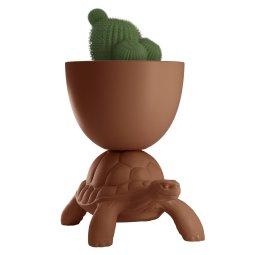 Tegla za biljke Turtle Carry Terracotta