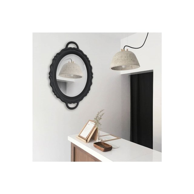 Ogledalo Plateau Black
