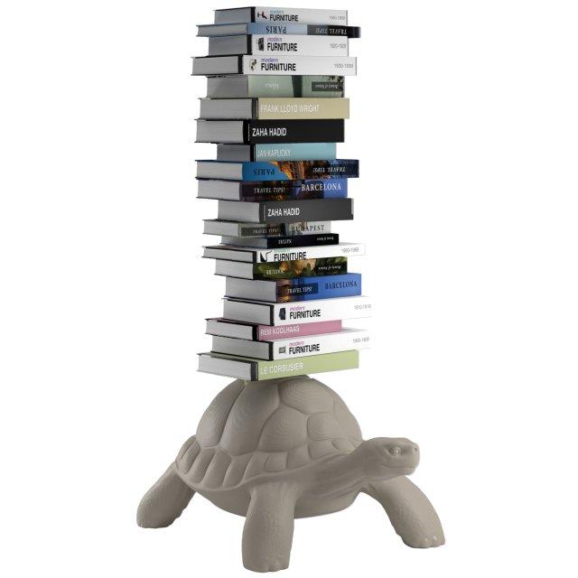 Polica za knjige Turtle Carry Dove Grey