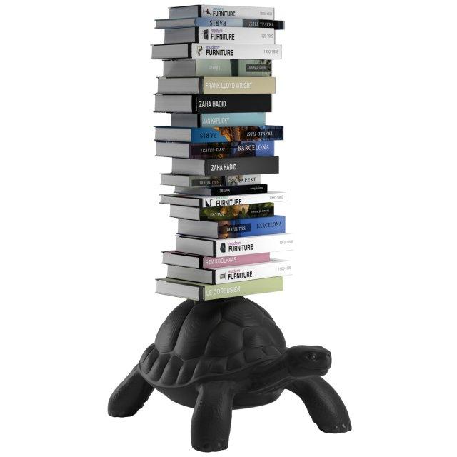 Polica za knjige Turtle Carry Black