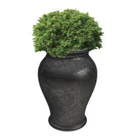 Tegla za biljke Ming Black