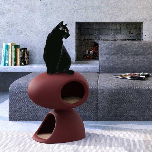 Kućica za mace Cat Cave Bordeaux