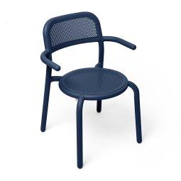 Stolica s rukonaslonom Toní Dark Ocean