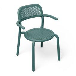 Stolica s rukonaslonom Toní Pine Green
