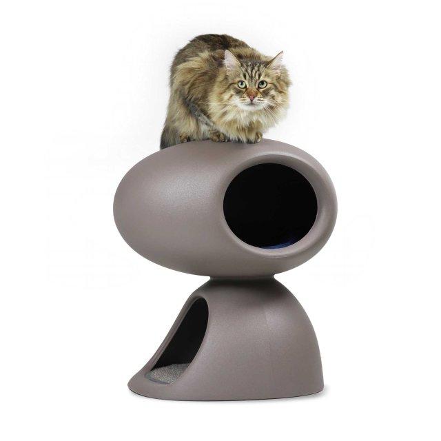 Kućica za mace Cat Cave Dove Grey
